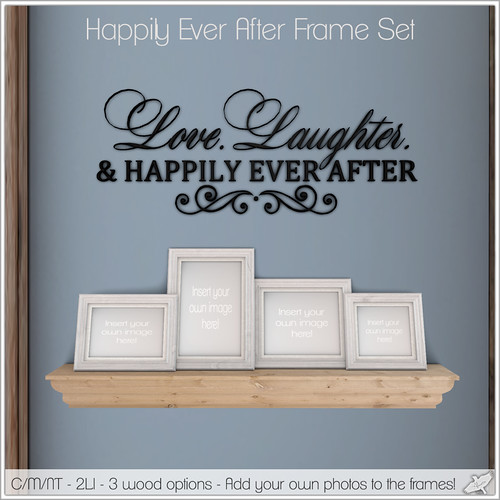 Alouette - Happily Ever After Frame Set (AD)