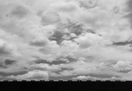 wall and sky