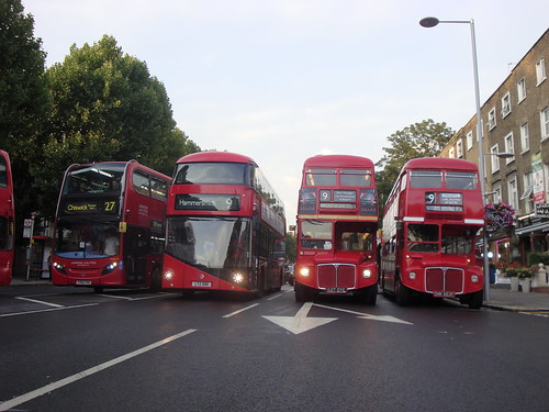 The Epic Quartet - Last Routemasters on Route 9H