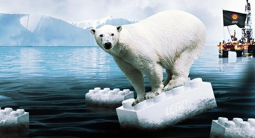 Greenpeace Lego Polar Bear Shell