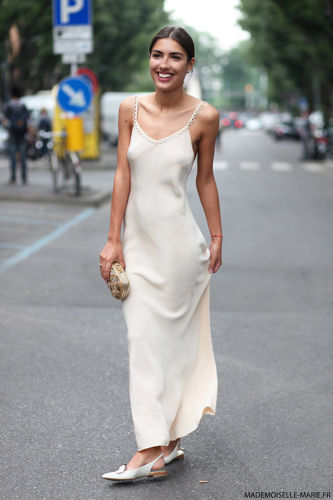 Patricia Manfield at Milan Fashion week Menswear day 3