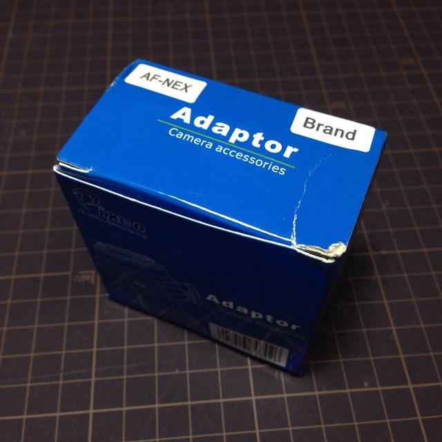 Pixco mount adapter box