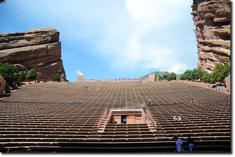 Terraces(seats)of Amphitheatre