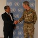 SRSG Farid Zarif received NATO's Deputy Supreme Allied Commander Europe, General Sir Adrian Bradshaw