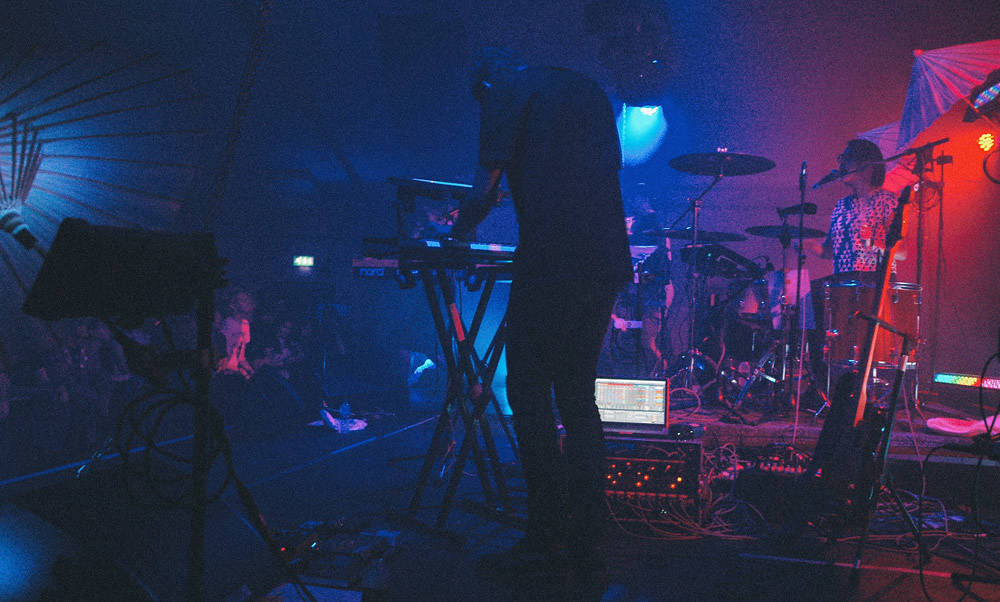 Austra @ Oval Space, London 10/07/14