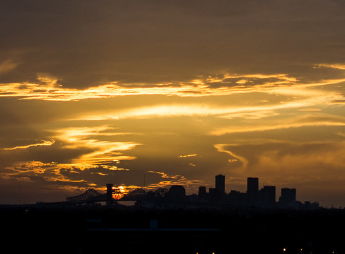 sunset louisiana unitedstates neworleans