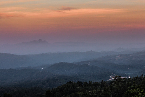 sunset india canon landscape landscapes kerala mothernature wayanad chembrapeak incredibleindia canon600d canonrebelt3i