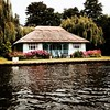 Cute #cottage #norfolkbroads #norfolk #river #england #englishcountryside
