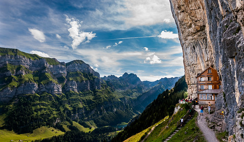 aescherhaus alps altmann appenzell appenzellerinnerrhoden bldwrkde berg berge bergwandern ebenalp gasthaus lisengratklettersteig mountains schweiz seealpsee wandern wildkirchli alpen alpstein mountainbike suisse switzerland ngc