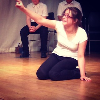 Maddy in a major Greek tragedy.