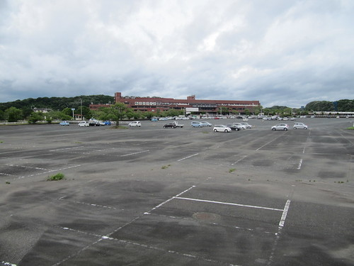 佐賀競馬場の駐車場