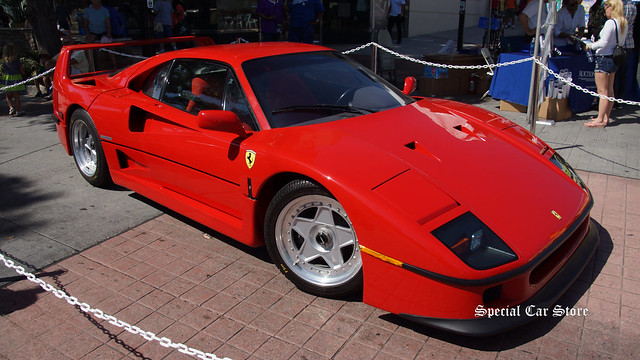 1990 Ferrari F40 owned by Rod Stewart at Auctions America