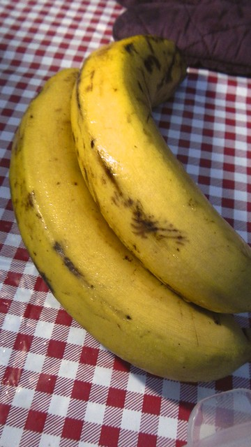Orange Caramel Bananas in the woods 4