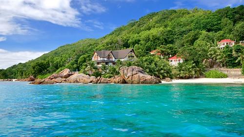 Patatran Hotel, La Digue, Seychelles