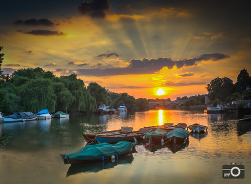sunset england london river riverside unitedkingdom richmond riverthames