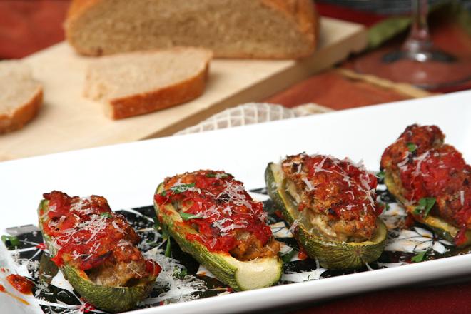 meatball zucchini 7