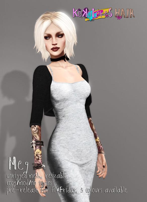 [KoKoLoReS] Hair Specials - Meg