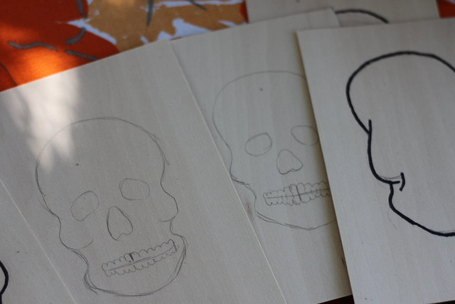drawing for skulls