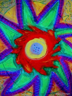 Spiraling Star
