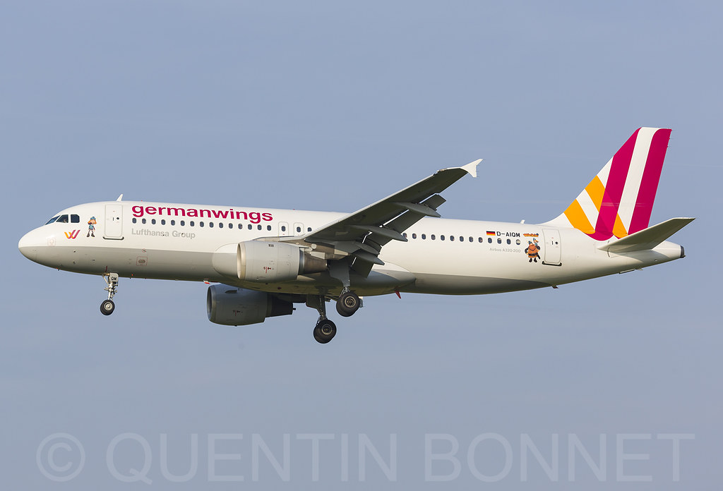 Germanwings Airbus A320-211 D-AIQM