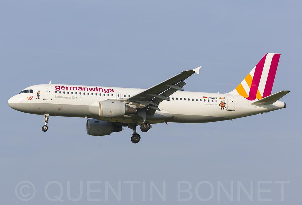 Germanwings Airbus A320-211 D-AIQM