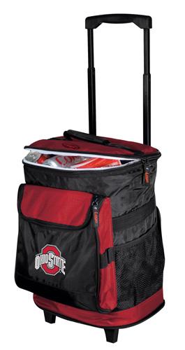 Ohio State Buckeyes Rolling Cooler