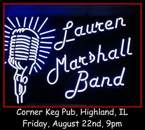 Lauren Marshall Band 8-22-14