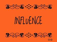 Buzzword Bingo: Influence