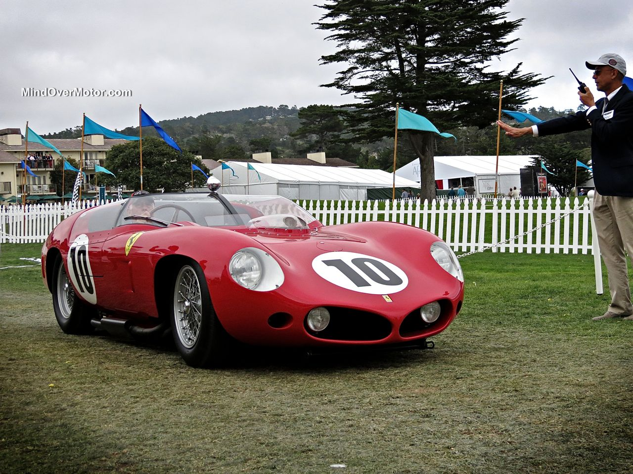 Pebble Beach 2014-Ferrari 250 TR Scaglietti
