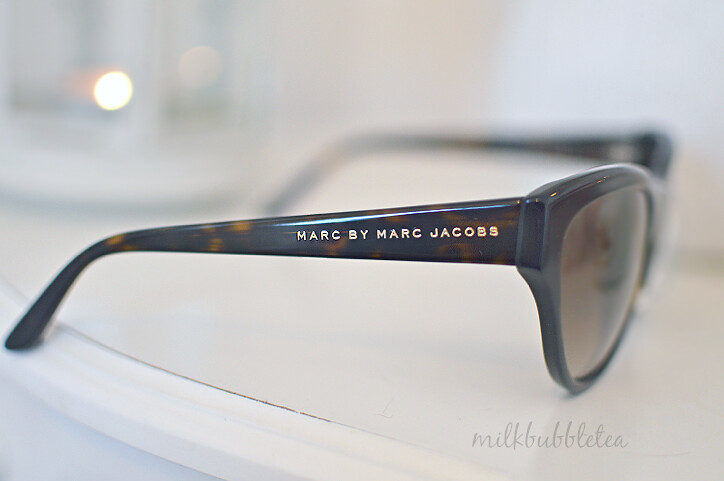 marc jacobs sunglasses milk bubble tea