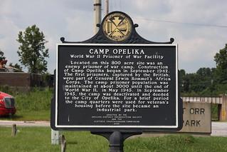 Camp Opelika Historical Marker / P2013-0824D160