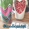 I've got my water and coffee! Ready for a #blissscandal with @annakunnecke!