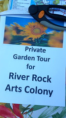 River Rock Arts Colony Garden Tour