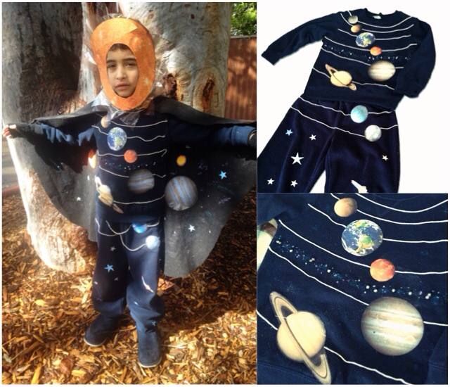 The making of a solar System costume