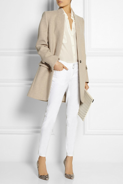 Stella mcCartney Bryce wool-blend felt coat