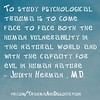 PSYCHOLOGICAL #TRAUMA quote by Judith Herman