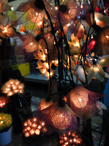 Lights for sale in Bangkok's weekend Chatuchak Market