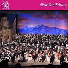 #FunFactFriday: Established in 1930, the El Paso Symphony is the oldest performing arts organization in El Paso as well as the longest continuously running symphony orchestra in Texas. They will be performing tonight & tomorrow at The Plaza Theatre! T