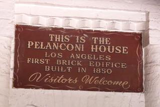 Casa de ladrillo más antigua de los Angeles