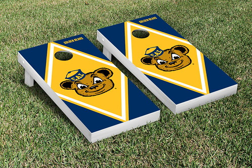 California Berkeley Golden Bears Cornhole Game Set Diamond Version