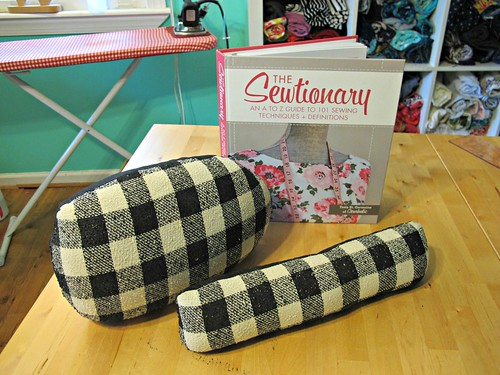 How to Make a Tailor's Ham & Seam Roll - Sewtionary Giveaway