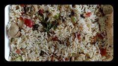 produce(0.0), food grain(1.0), yeung chow fried rice(1.0), rice(1.0), food(1.0), pilaf(1.0), dish(1.0), fried rice(1.0), cuisine(1.0),