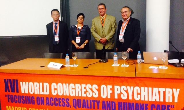Üsküdar Üniversitesi Dünya Psikiyatri Birliği kongresine katıldı