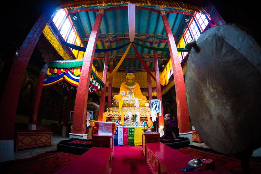 Будда Шакьямуни. Монастыри Ладакха (Монастыри малого Тибета) © Kartzon Dream - авторские путешествия, авторские туры в Ладакх, тревел фото, тревел видео, фототуры