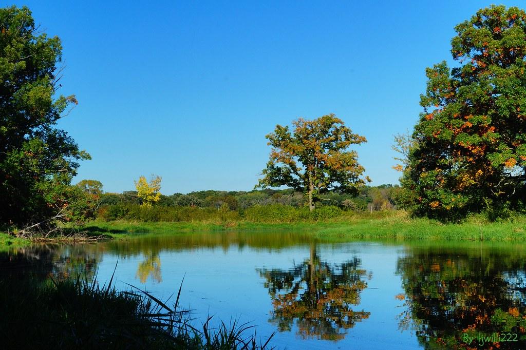 September 22 Autumn Reflections Grass Lake East Pond_9817
