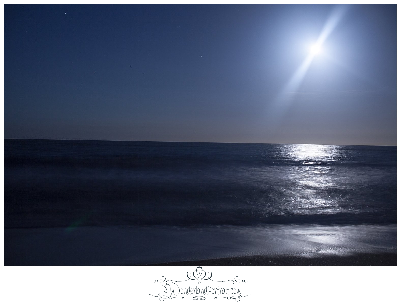 Outer Banks NC Full Moon Photography