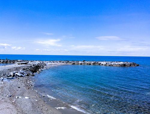 Blue sea blue sky ...