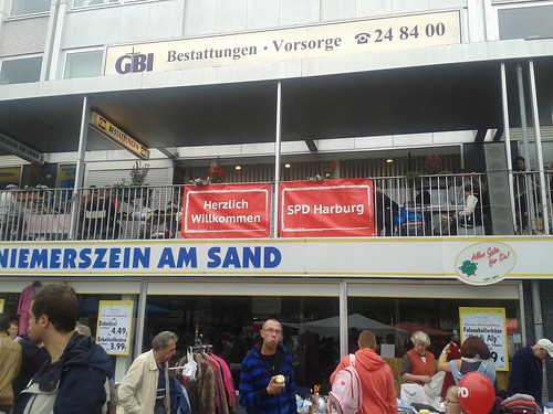 SPD Flohmarkt in Harburg 2014
