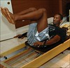 Kobe Bryant does Pilates