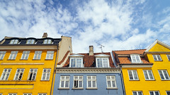 Rooftops at Nyhavn